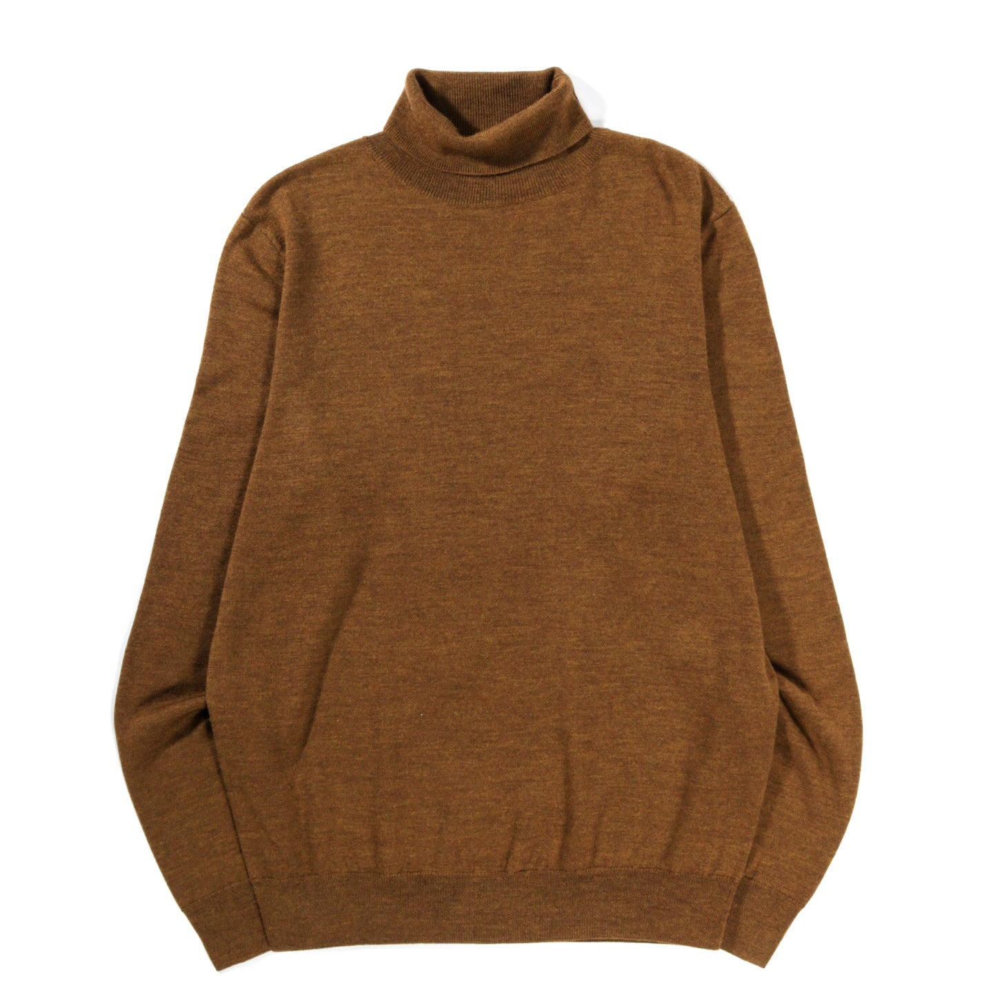 A.P.C. DUNDEE SWEATER HEATHER OCHRE
