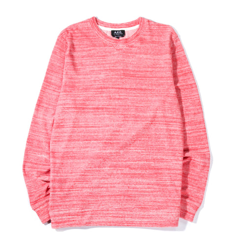 A.P.C. MAX SWEATSHIRT RED