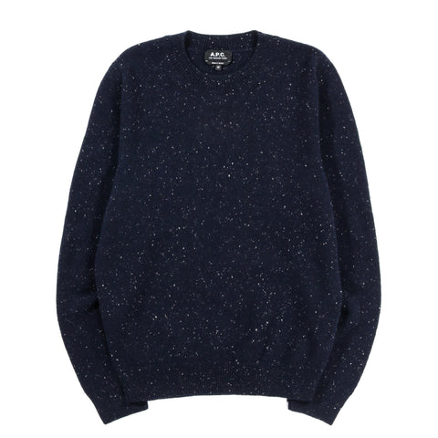 A.P.C. CAVAN SWEATER DARK NAVY