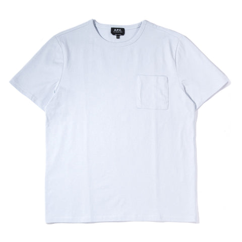 A.P.C. JESS T-SHIRT LIGHT BLUE