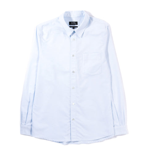 A.P.C. 92 SHIRT PALE BLUE