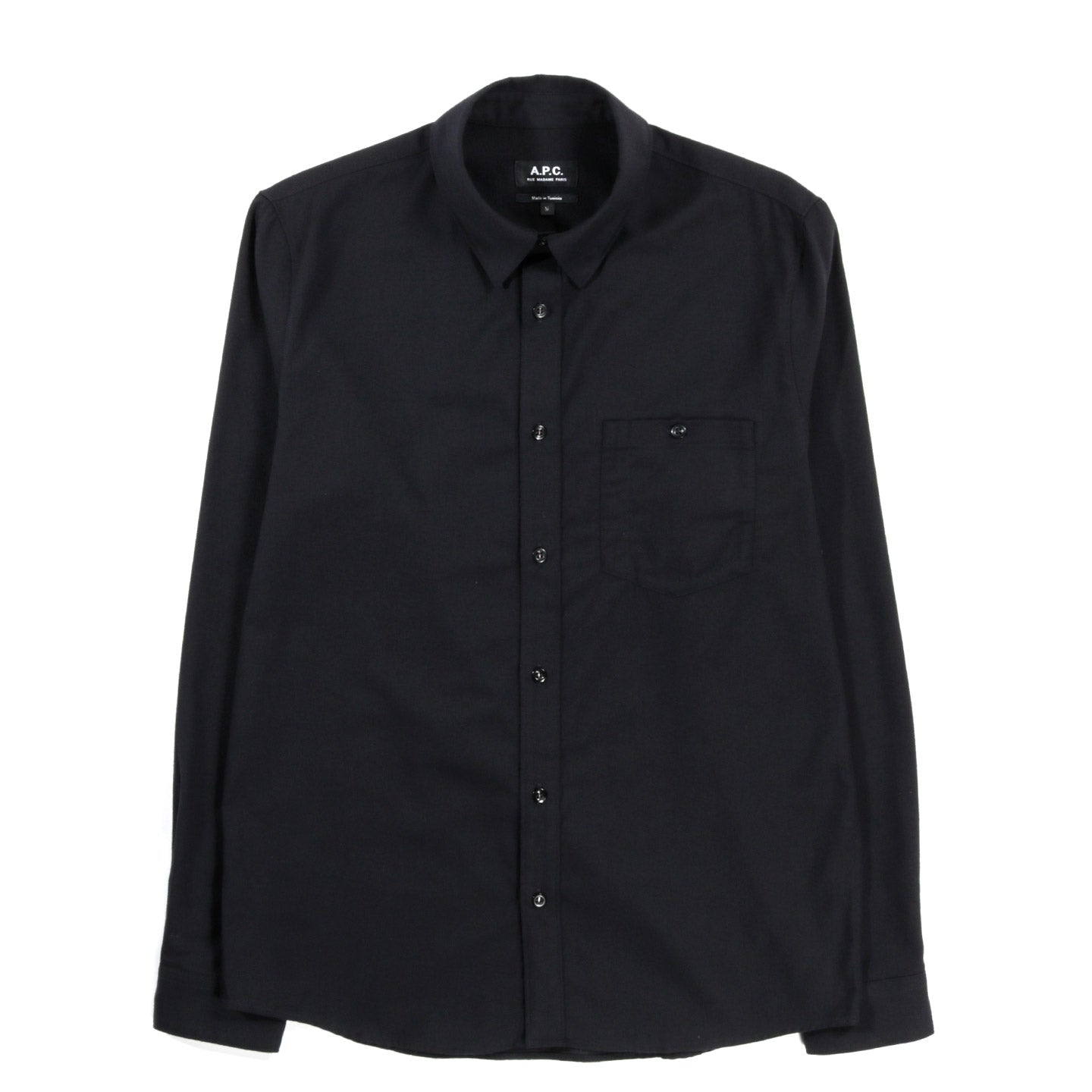 A.P.C. CHICAGO SHIRT BLACK