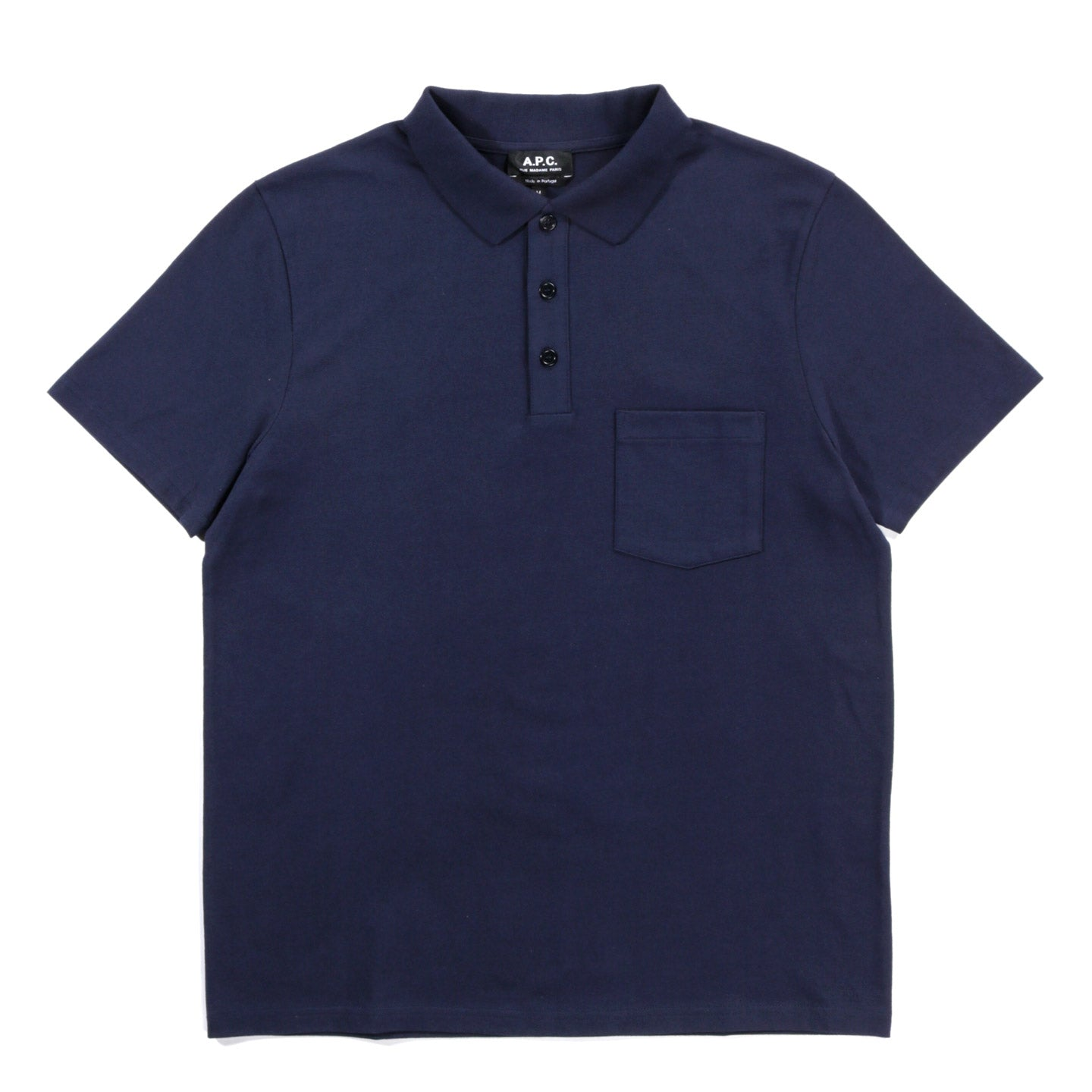 A.P.C. ARCHIE POLO NAVY