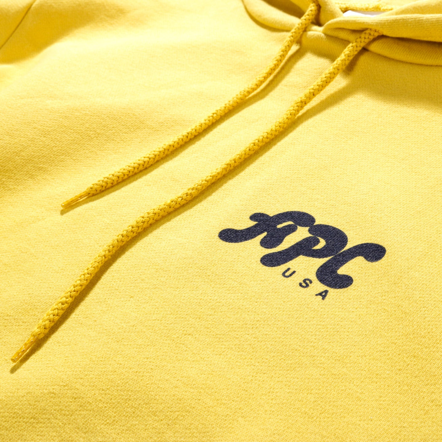 A.P.C. KEITH HOODIE MUSTARD