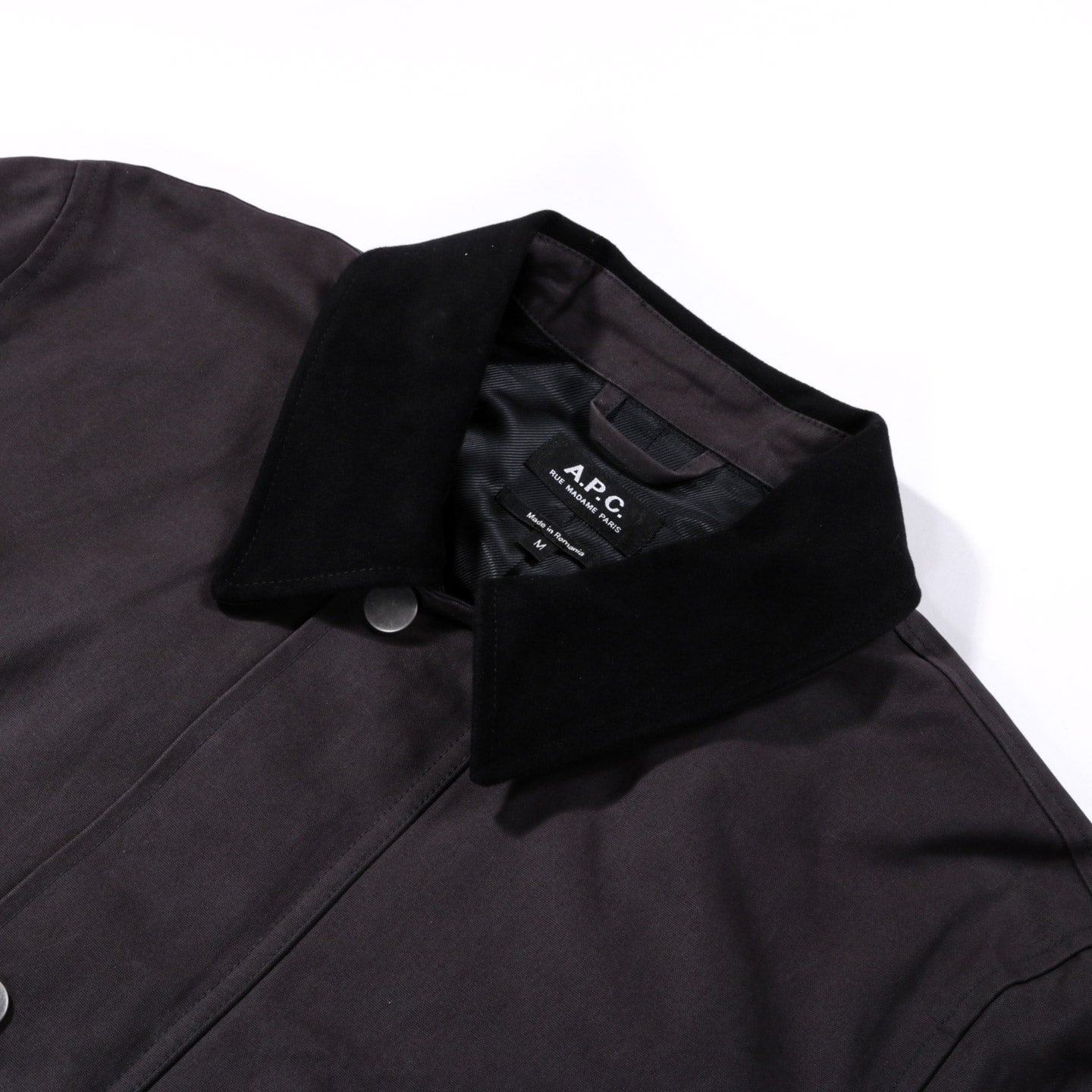 A.P.C. YORKSHIRE JACKET OFF-BLACK