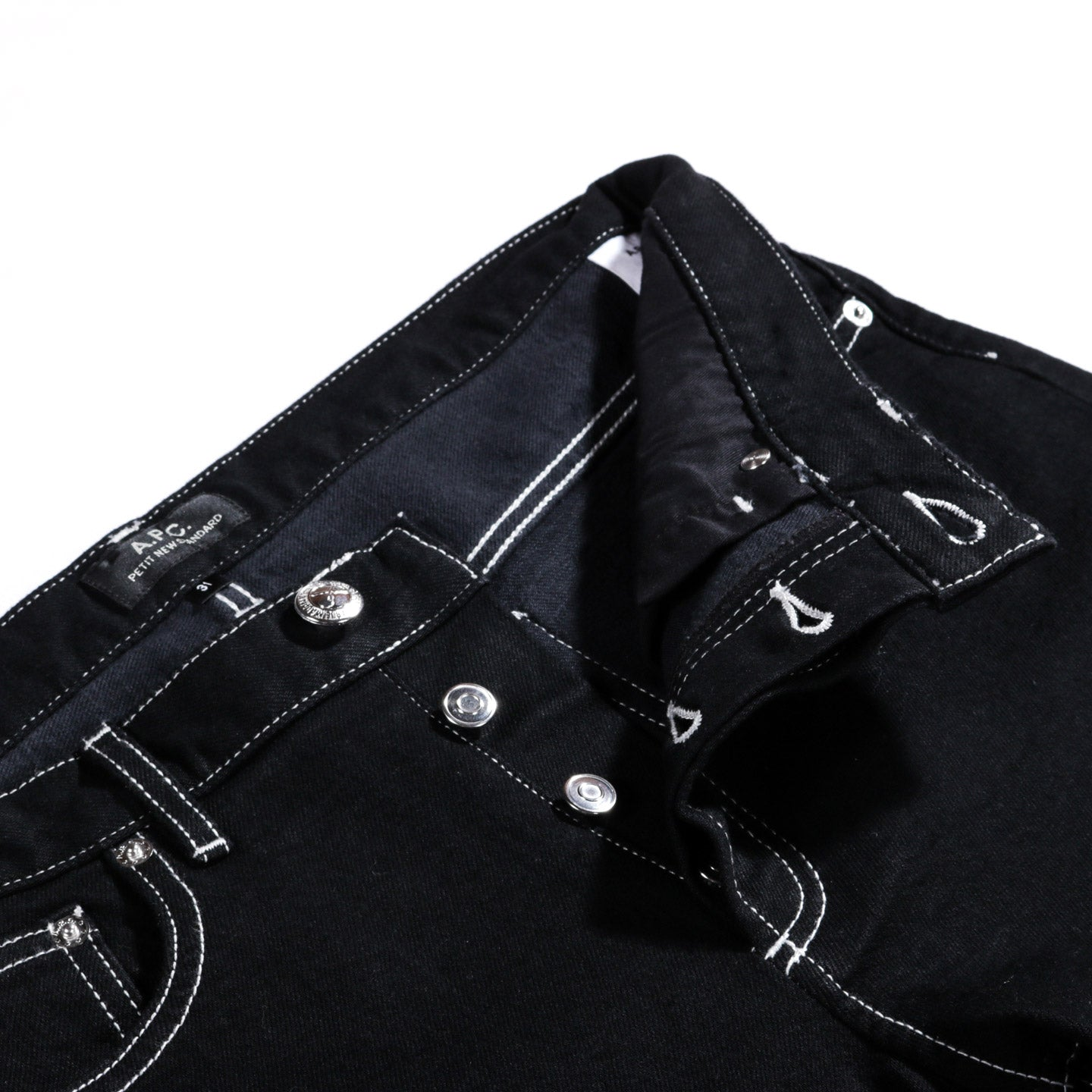 A.P.C. PETIT NEW STANDARD OFF-BLACK