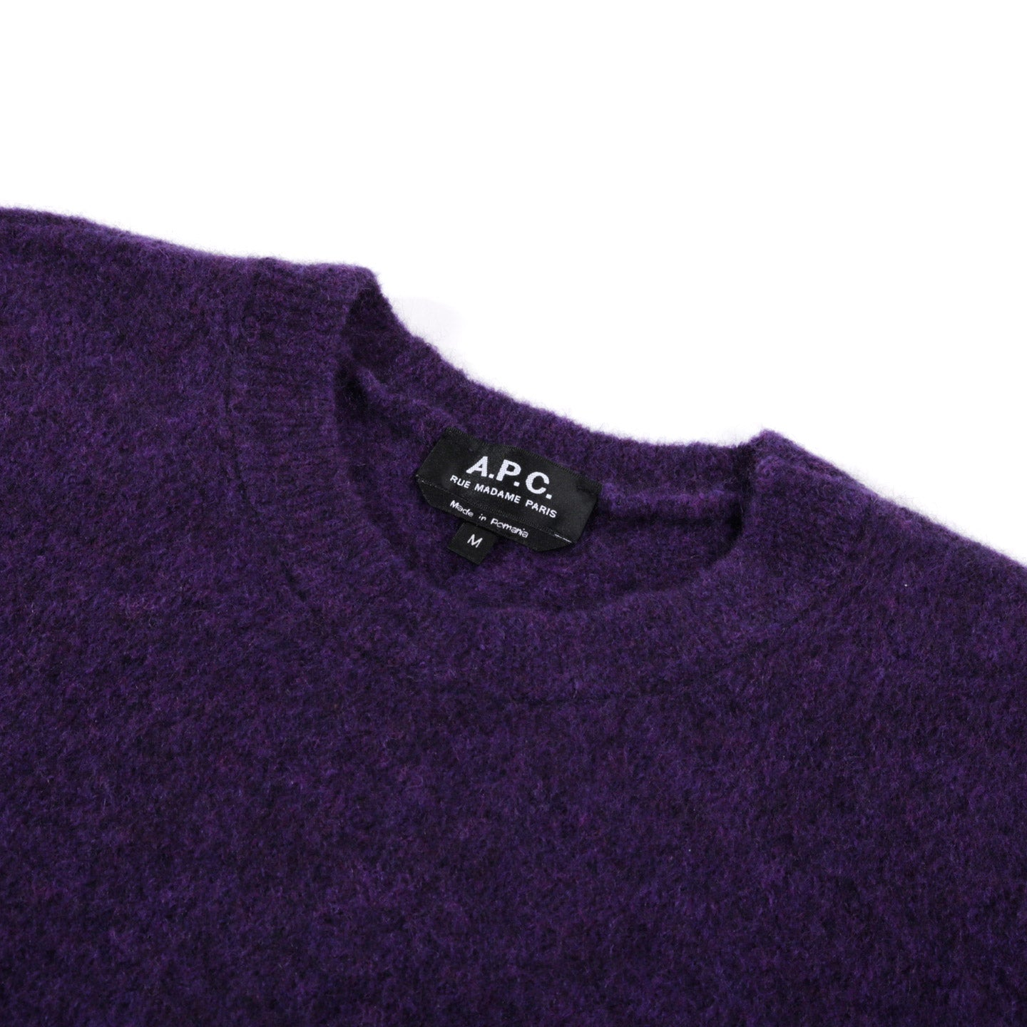 A.P.C. DIEGO SWEATER VIOLET
