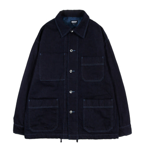 ARPENTEUR ADN JACKET WOAD OVERDYED DENIM