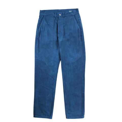 ARPENTEUR EDDIE P. TROUSERS WOAD OVERDYED DENIM