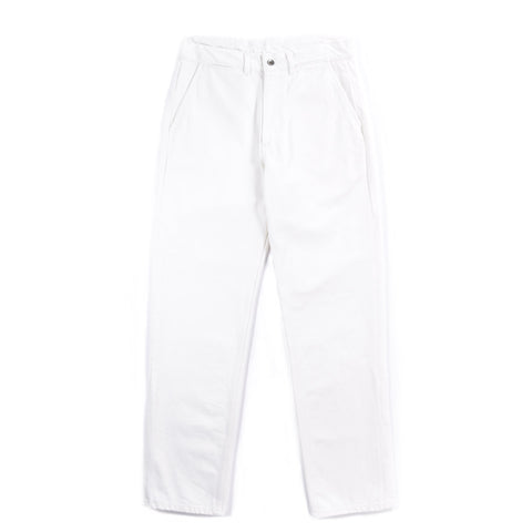 ARPENTEUR EDDIE P. TROUSERS WHITE DENIM