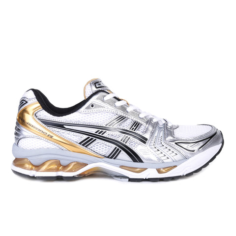 ASICS GEL-KAYANO 14 WHITE / PURE GOLD