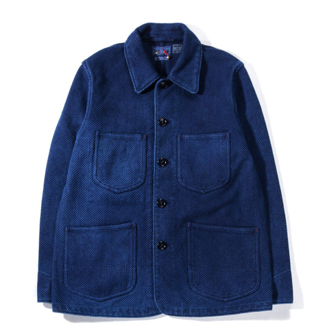 BLUE BLUE JAPAN INDIGO HAND DYED BIG SASHIKO STANDARD COVERALL