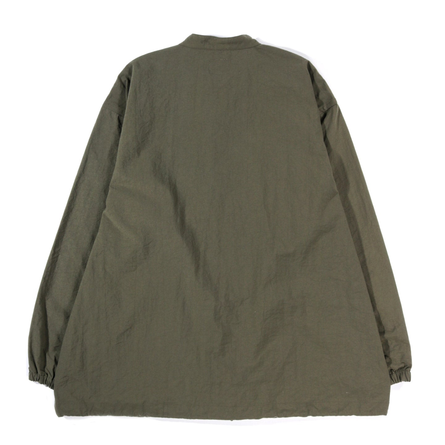 THE CONSPIRES STAND COLLAR COAT OLIVE