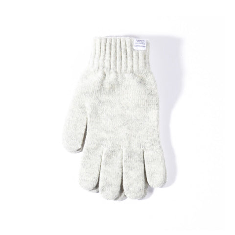 NORSE PROJECTS NORSE GLOVES LIGHT GREY MELANGE