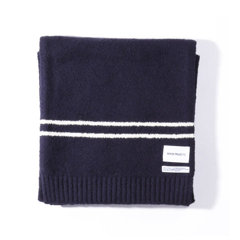 NORSE PROJECTS WINTER SCARF NAVY