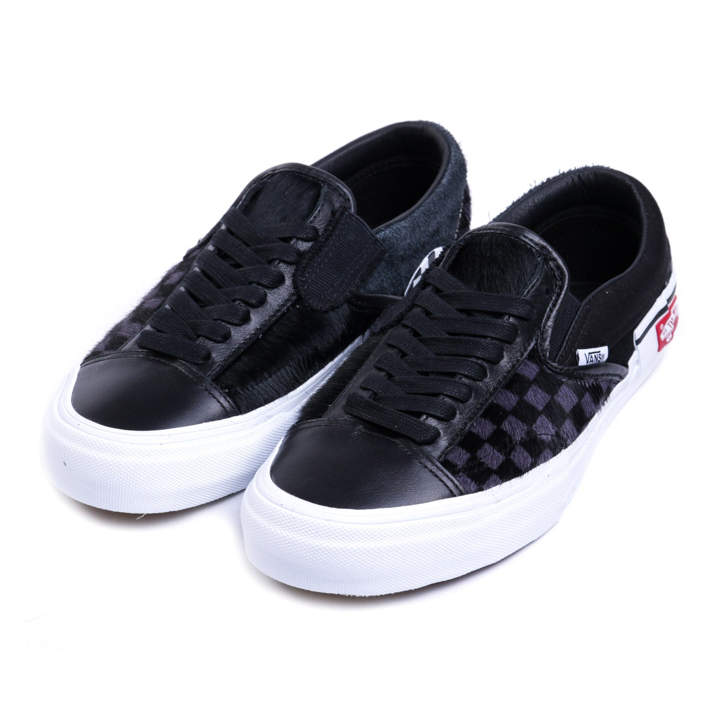 VAULT BY VANS SLIP-ON CAP LX PONY BLACK