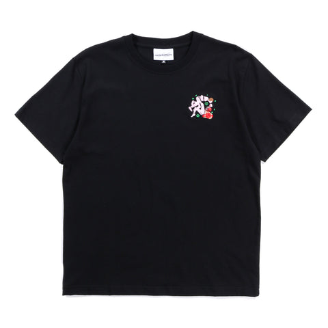 CARNE BOLLENTE TIED FOR THE GODS T-SHIRT BLACK