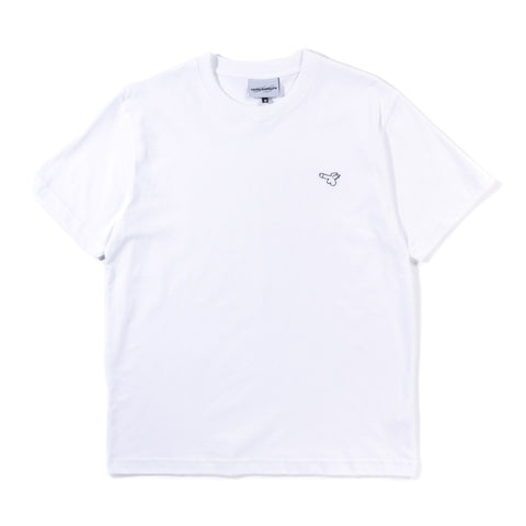 CARNE BOLLENTE WEE WILLY T-SHIRT WHITE