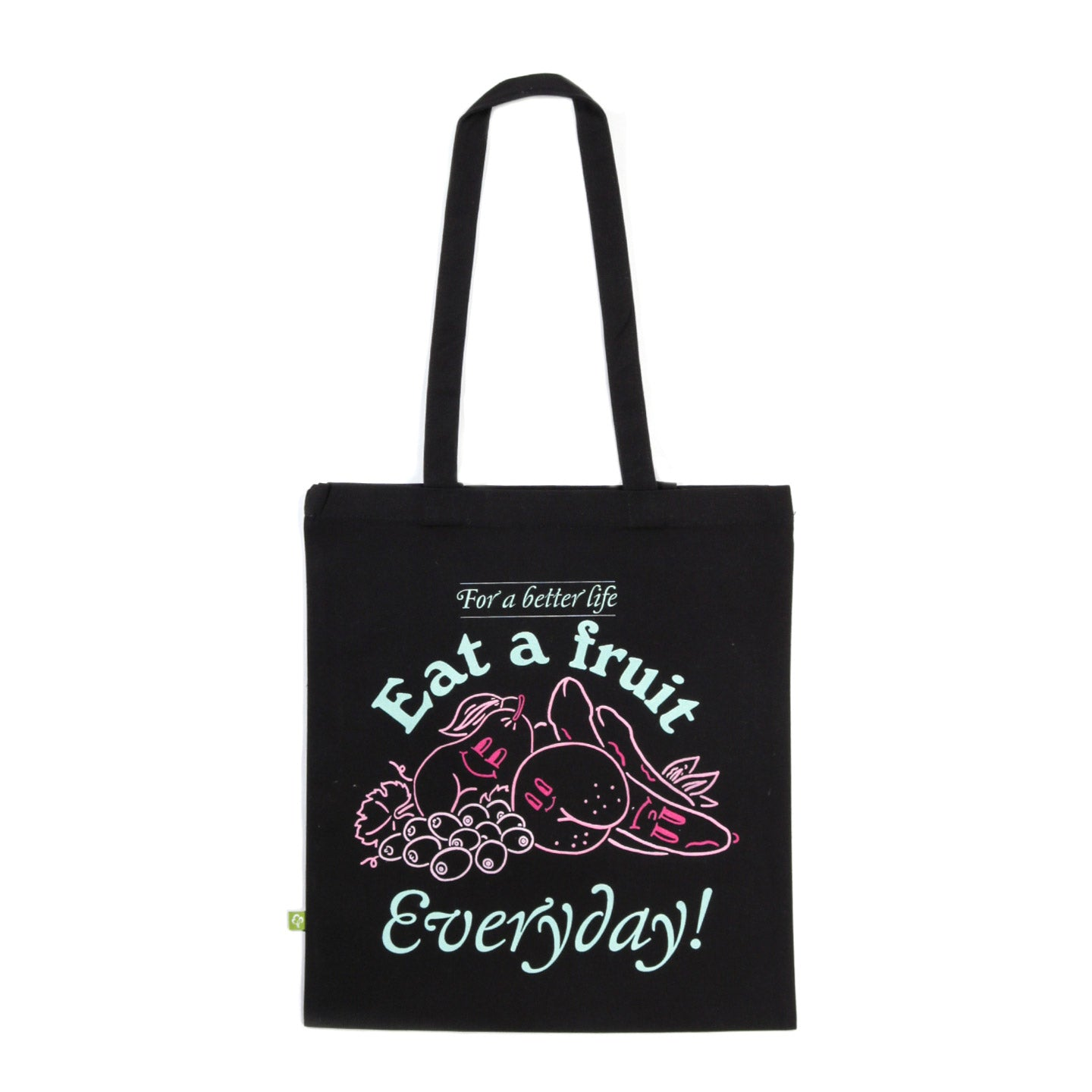 CARNE BOLLENTE DO IT EVERYDAY TOTE BLACK