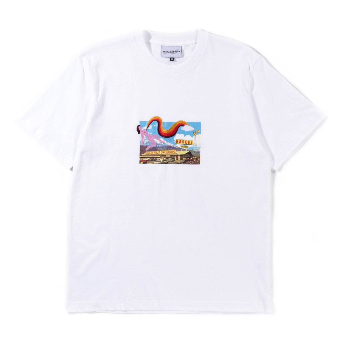 CARNE BOLLENTE LEAKING BEAUTY T-SHIRT WHITE