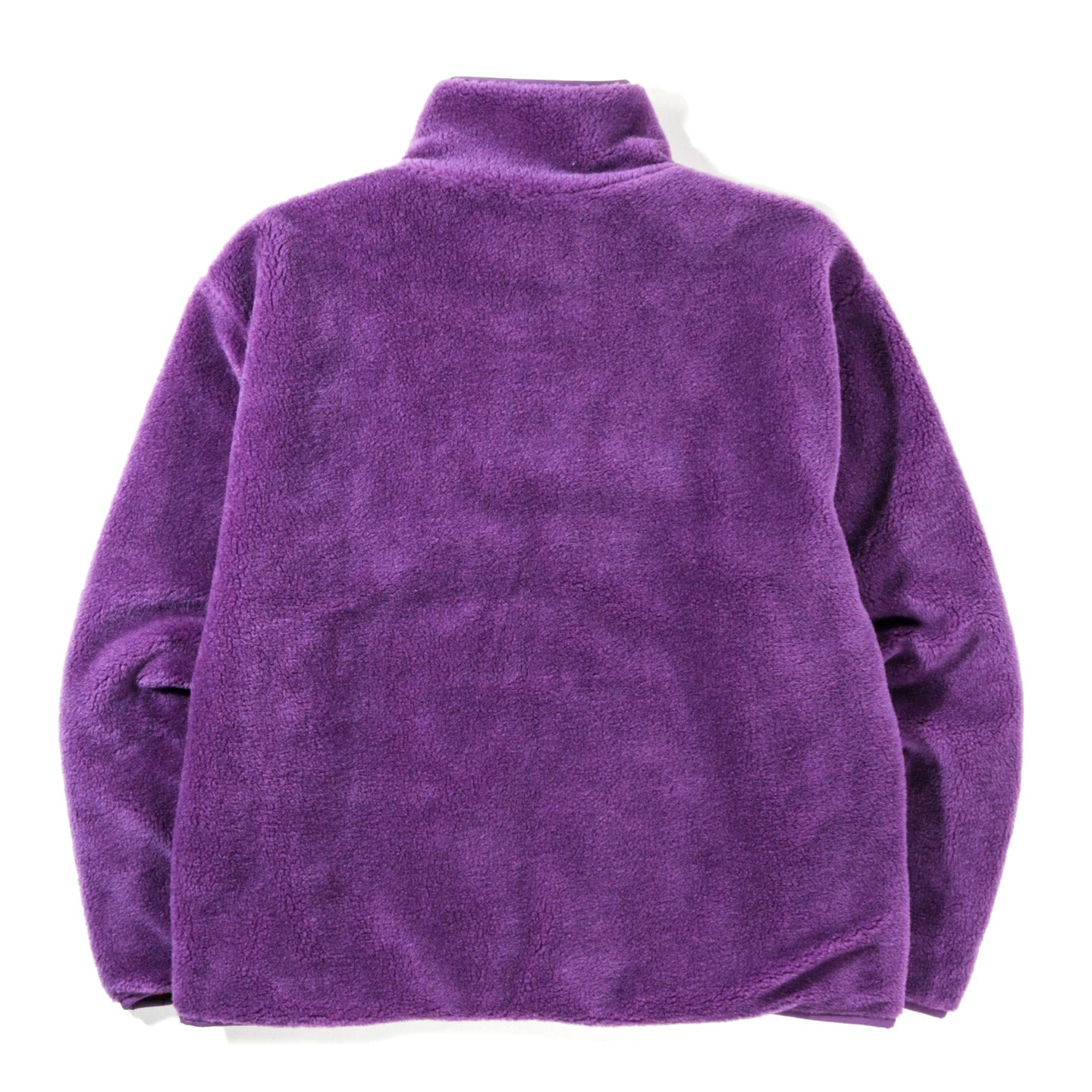 CARNE BOLLENTE WHEN HARRY WET SALLY FLEECE JACKET PURPLE