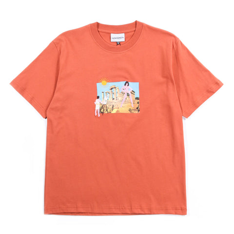 CARNE BOLLENTE LE PARTETON T-SHIRT ORANGE