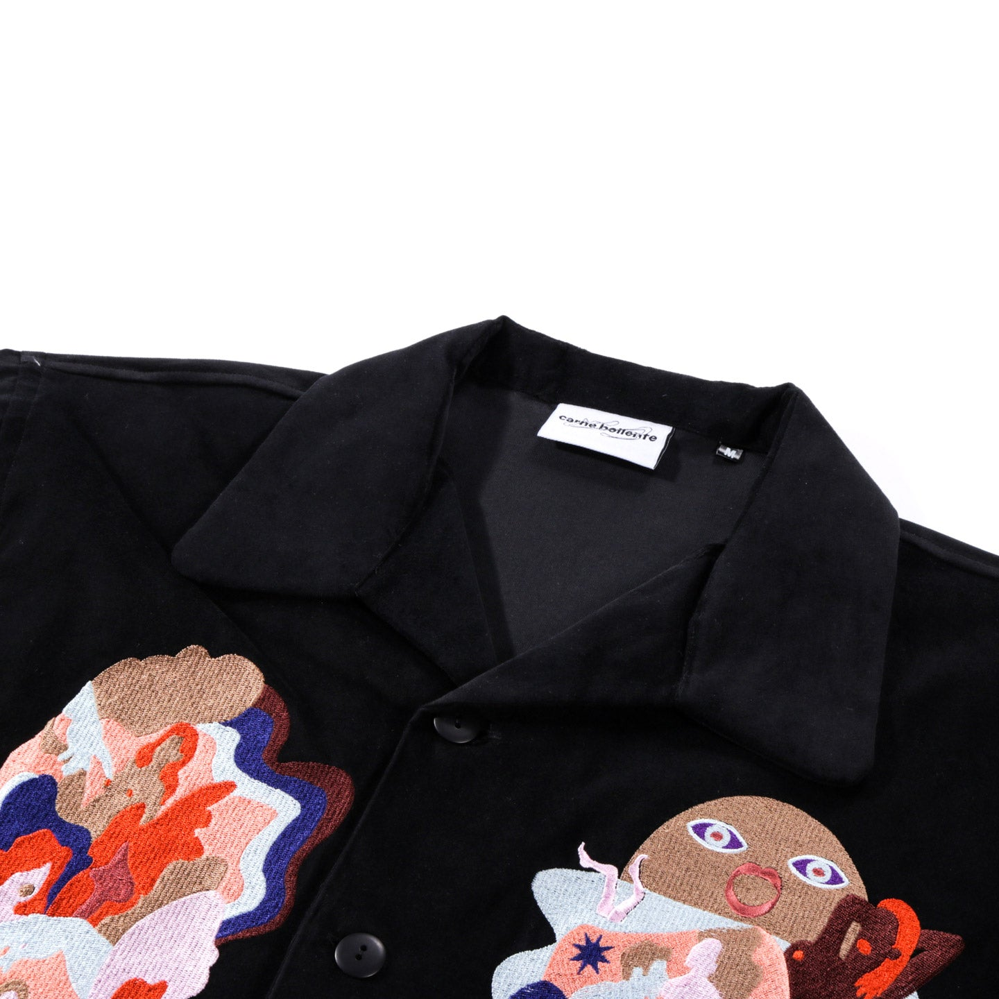CARNE BOLLENTE FLESH DANCE SHIRT BLACK