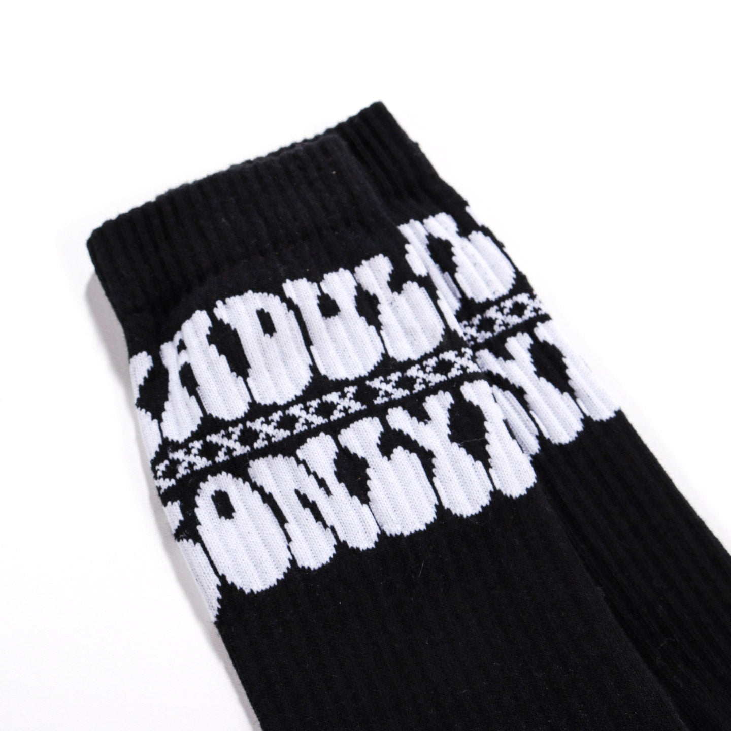CARNE BOLLENTE ADULTS ONLY SOCKS BLACK