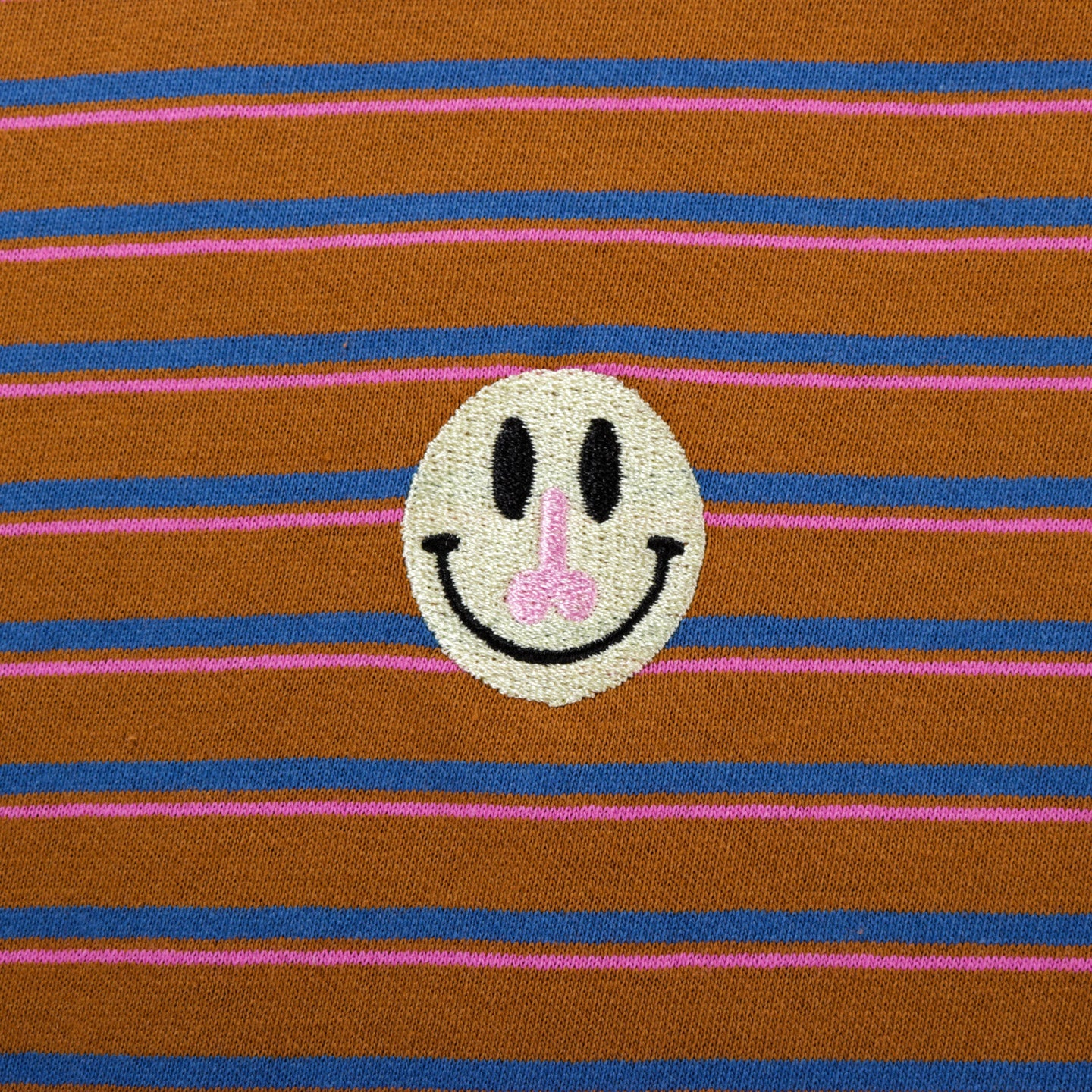 CARNE BOLLENTE LONGER DICKFACE LS T-SHIRT STRIPE