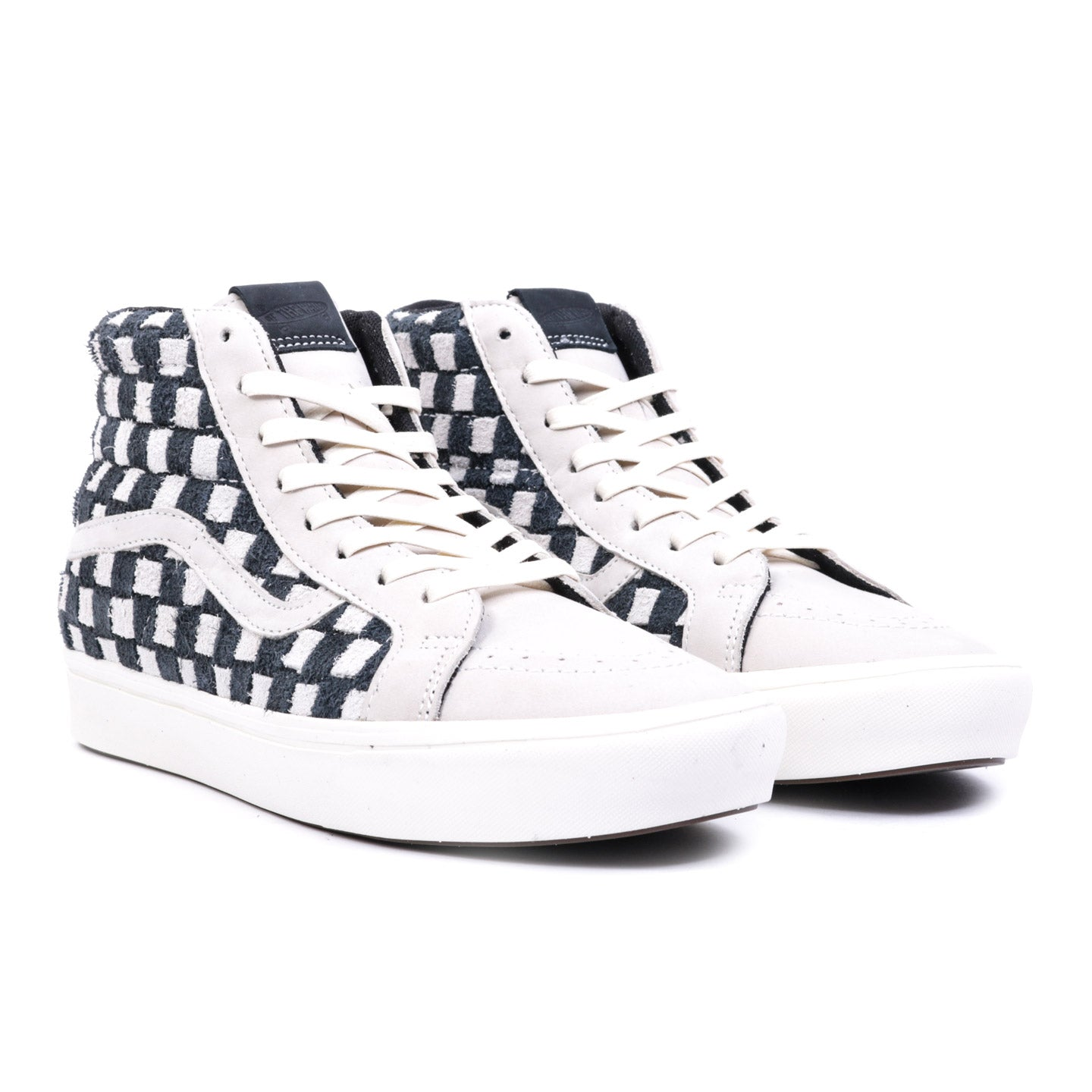 VAULT BY VANS COMFYCUSH SK8-HI REISSUE LX OATMEAL / BLACK