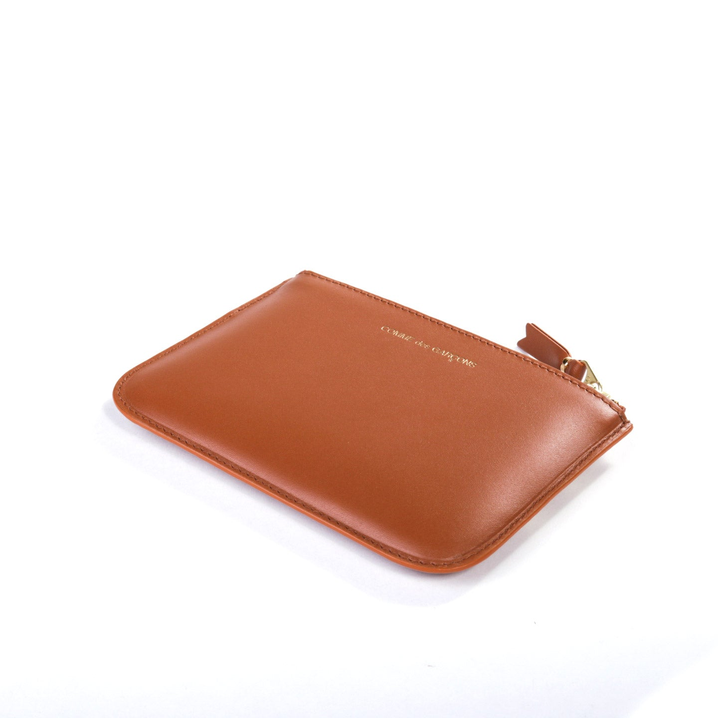 COMME DES GARCONS SA8100 RUBY EYES ZIP WALLET BROWN