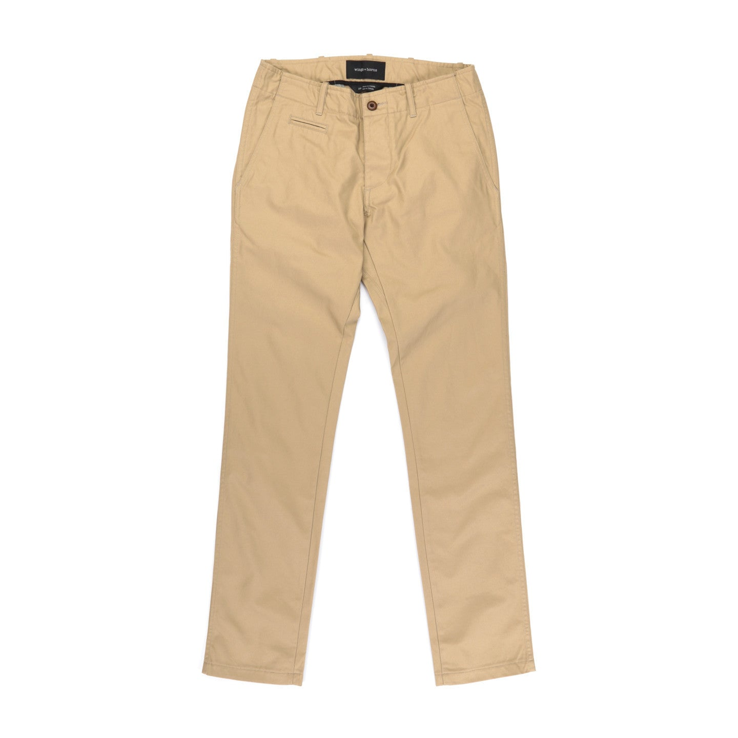 WINGS + HORNS CONVOY TWILL WESTPOINT CHINO KHAKI