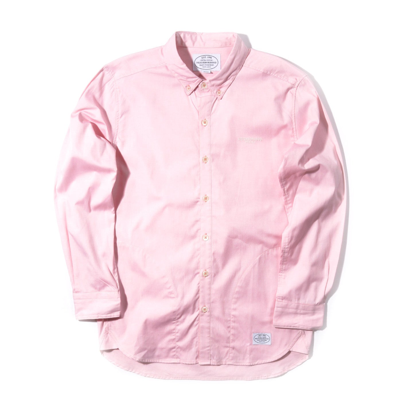 NEIGHBORHOOD CLASSIC OXFORD SHIRT PINK