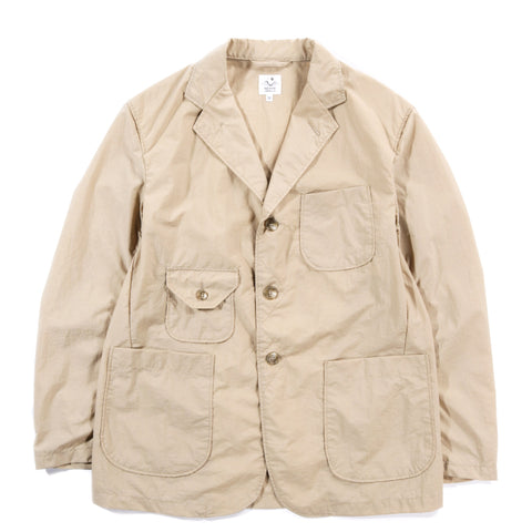THE CONSPIRES MIL JACKET ACRYLIC COATED NYLON TAFFETA KHAKI