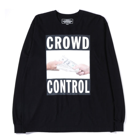 NEIGHBORHOOD CTD LS TEE BLACK