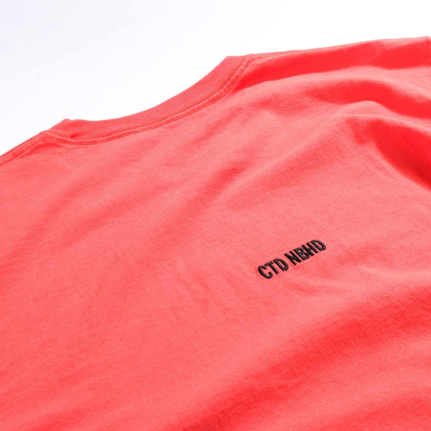 NEIGHBORHOOD CTD LS TEE ORANGE