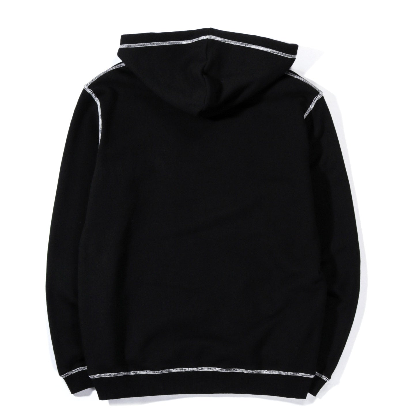 CARTER YOUNG CONTRAST HOODIE BLACK
