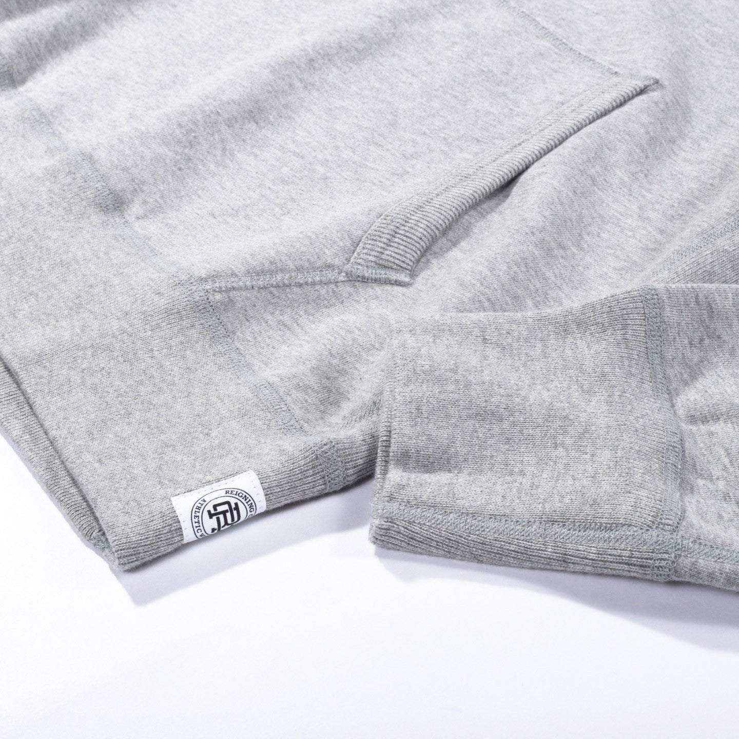 REIGNING CHAMP MIDWEIGHT TERRY PULLOVER HOODY HEATHER GREY