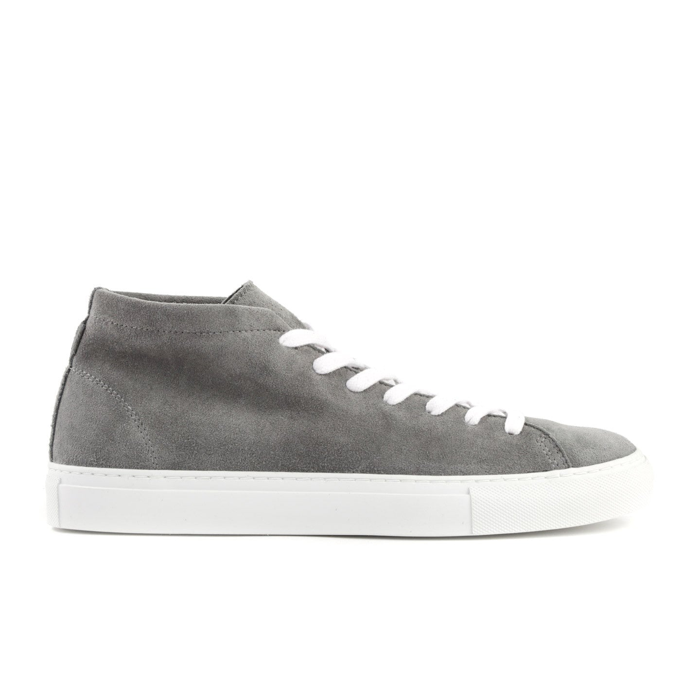 Diemme Grey Suede Loria Mid-Top Sneakers