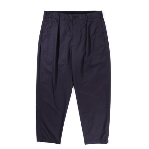 ENGINEERED GARMENTS CARLYLE PANT DARK NAVY HIGHCOUNT TWILL