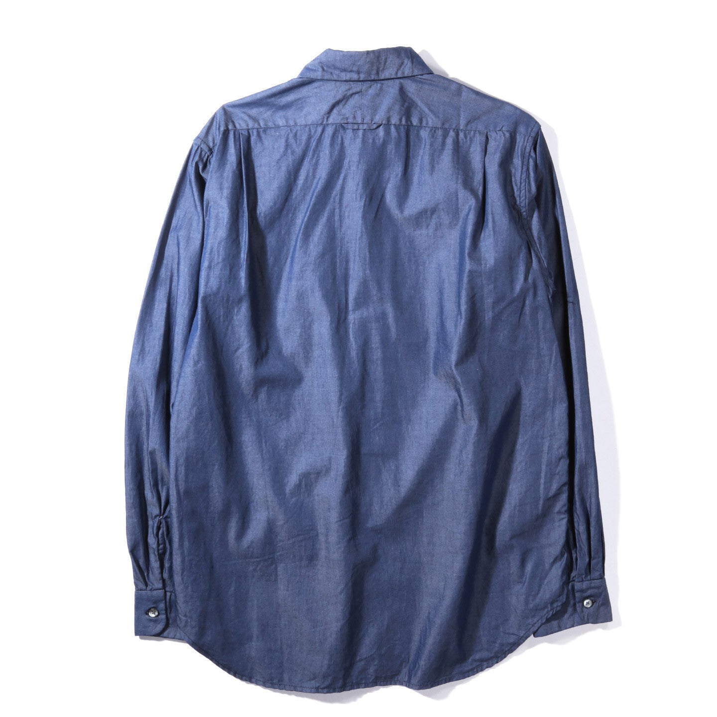 ENGINEERED GARMENTS SHORT COLLAR SHIRT INDIGO