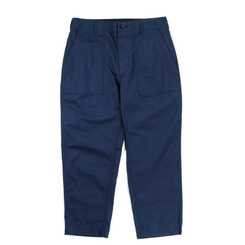 ENGINEERED GARMENTS FATIGUE PANT NAVY 6.5OZ FLAT TWILL