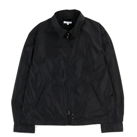 ENGINEERED GARMENTS CLAIGTON JACKET BLACK MEMORY POLYESTER