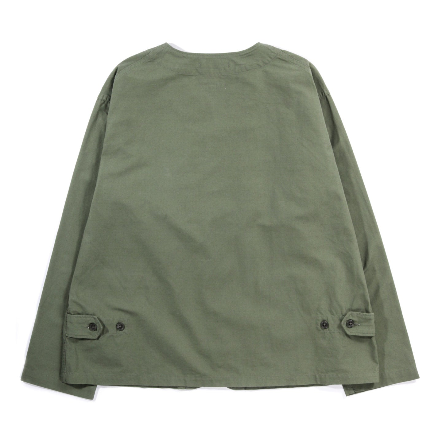 ENGINEERED GARMENTS CARDIGAN JACKET OLIVE COTTON RIPSTOP