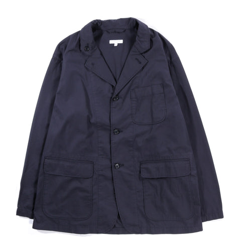 ENGINEERED GARMENTS LOITER JACKET DARK NAVY HIGHCOUNT TWILL