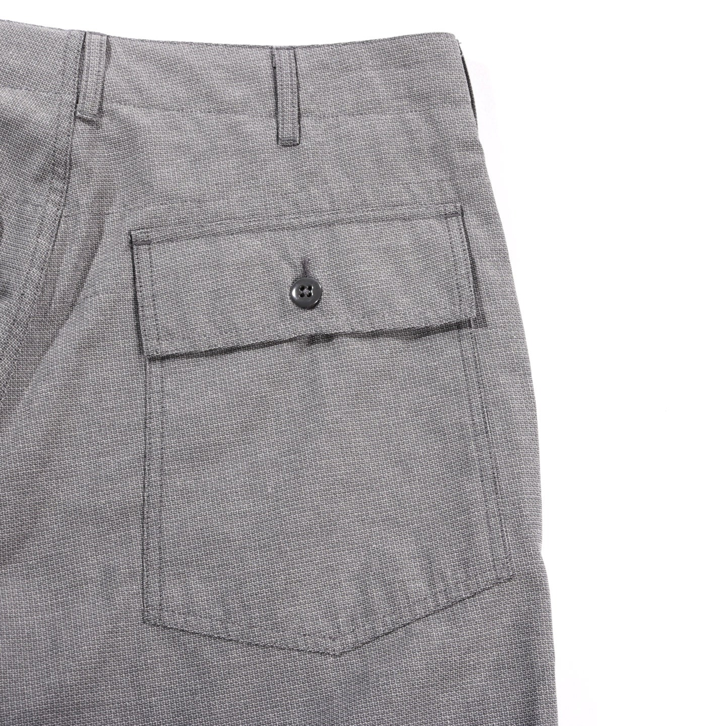 ENGINEERED GARMENTS ATLANTIC PARKA BLACKWATCH NYCO CLOTH