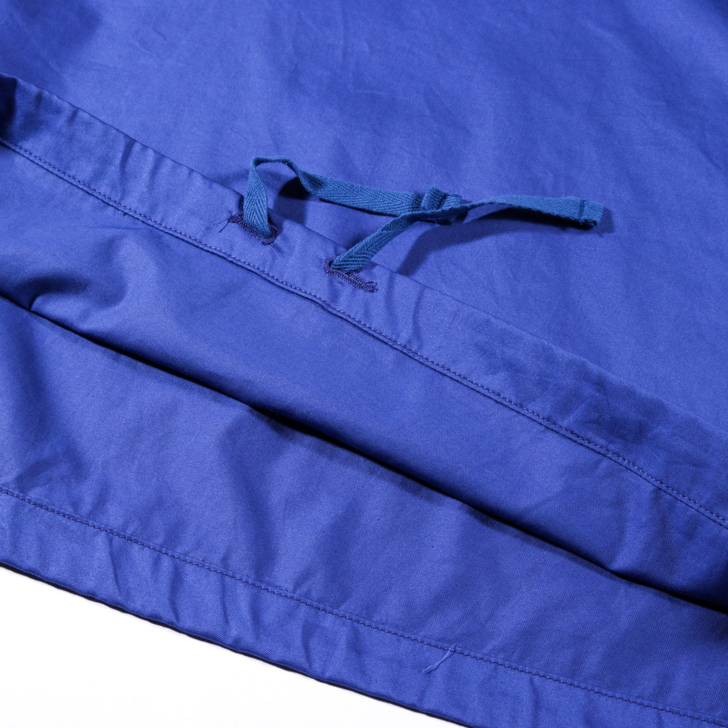 ENGINEERED GARMENTS CAGOULE SHIRT ROYAL COTTON NANO TWILL