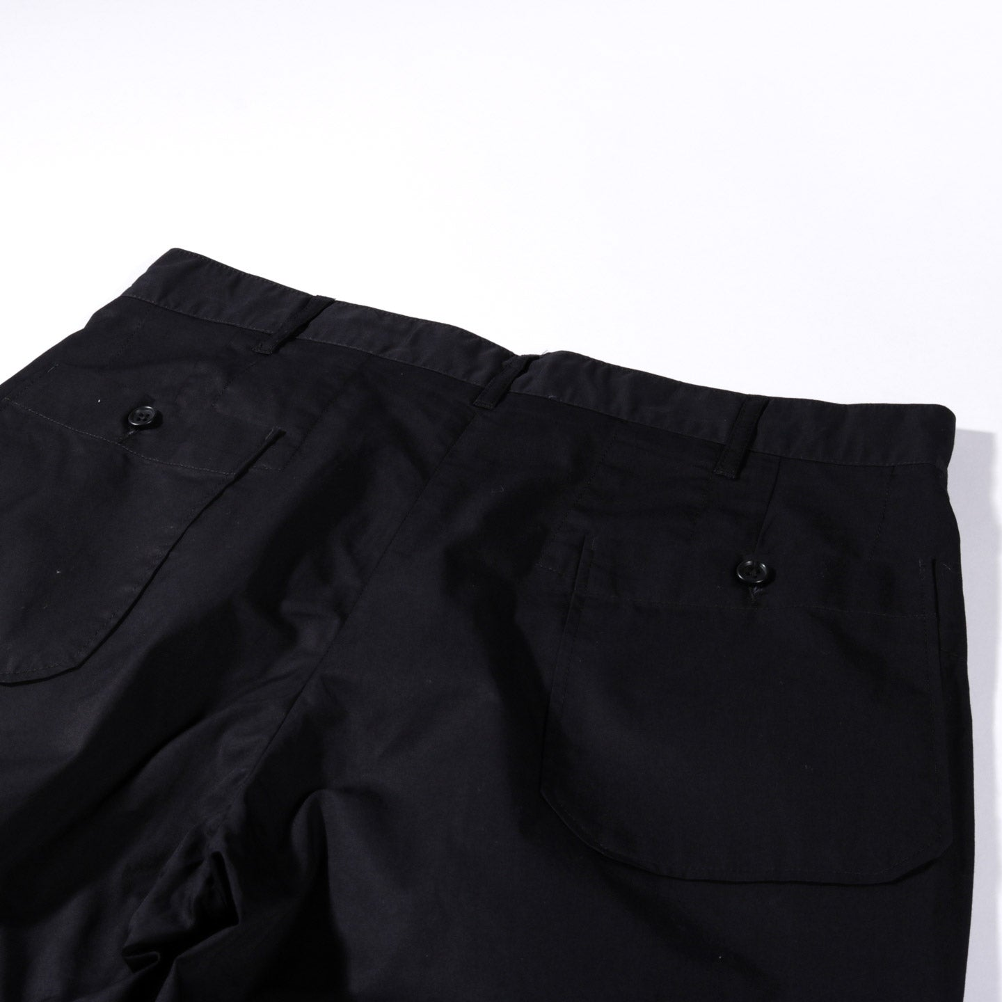 ENGINEERED GARMENTS CARLYLE PANT BLACK HIGHCOUNT TWILL