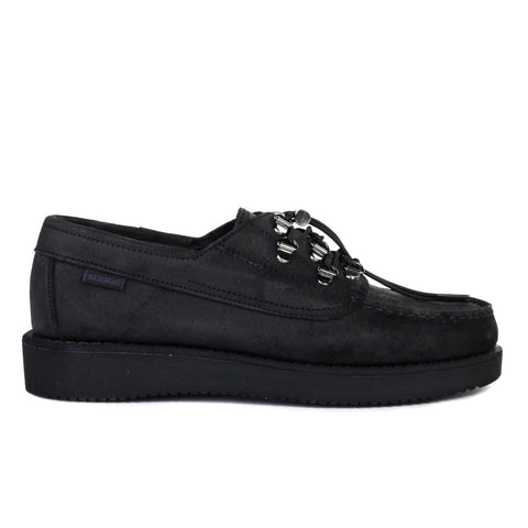 ENGINEERED GARMENTS SEBAGO OVERLAP BLACK