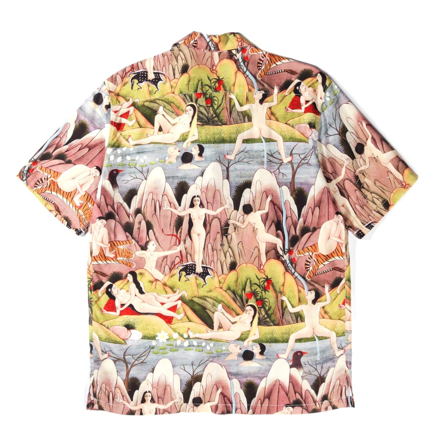 ENDLESS JOY 'TOWARDS A CENTRE' ALOHA SHIRT